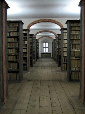 Bild zu 4 Elemente Denkmodell Bibliothek